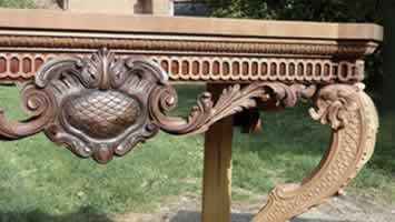 Antique furniture gilding and carving in Whitstable