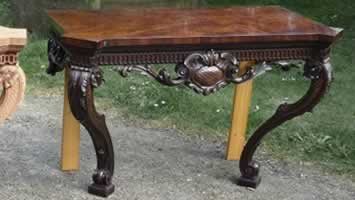 Furniture wax polishing for tables in Maidstone