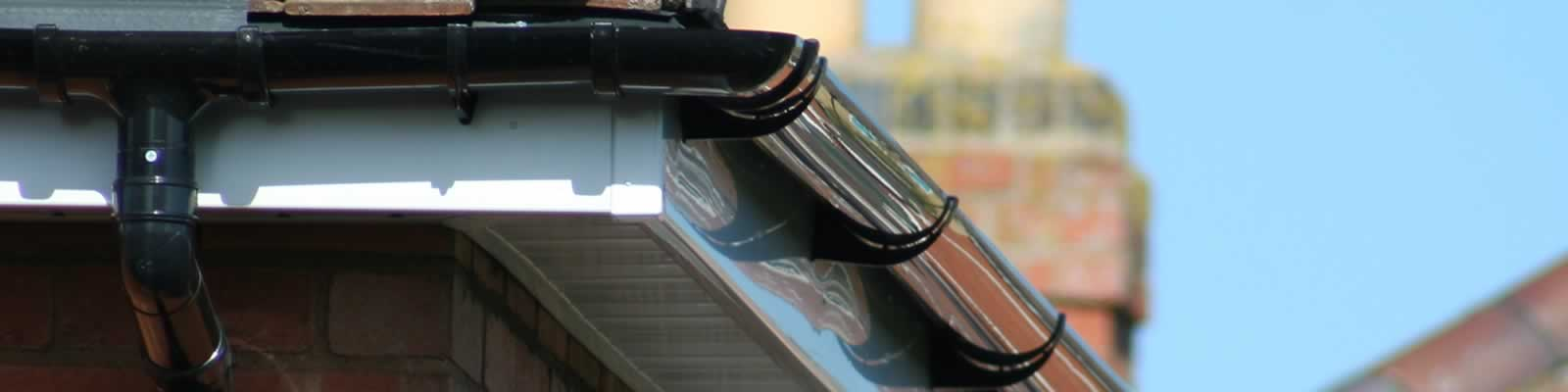 PVCu guttering in Smethwick and Walsall