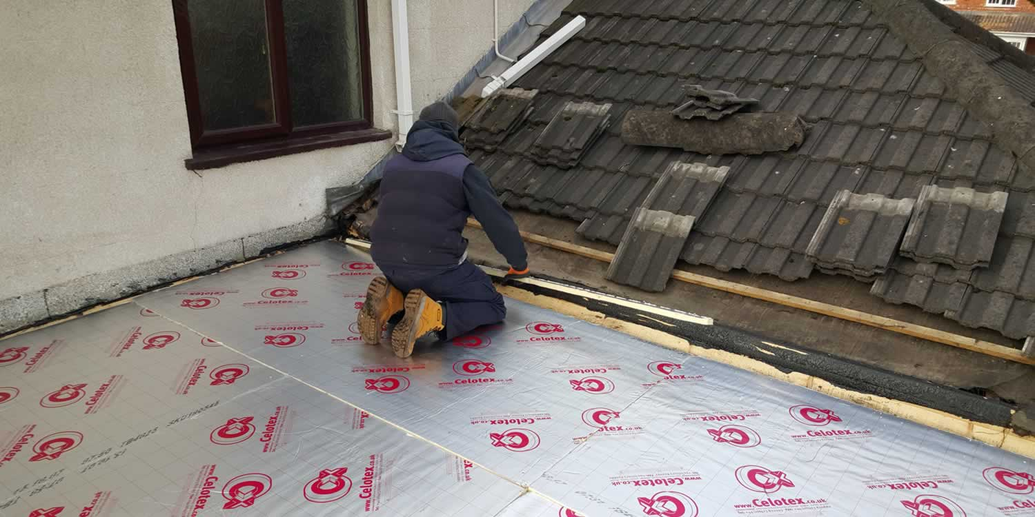 Rubber Roofing Services Roof Repairs Tipton, Birmingham, West Bromwich