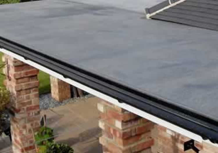 Rubber roof repairs and maintenance in Wolverhampton